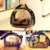 Wholesale  Breathable Pet Travel Backpack Space Capsule Carrier Bag Hiking Transparent Cat Bag Space