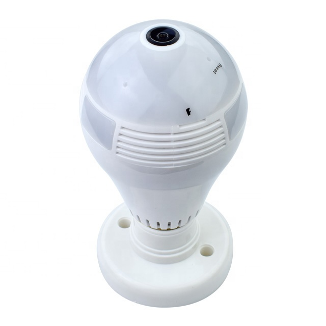 Hot product high quality 960p Wireless CCTV Wifi Panoramic 360 Led Light Bulb spy wireless hidden ip <strong>Camera</strong> for baby monitor