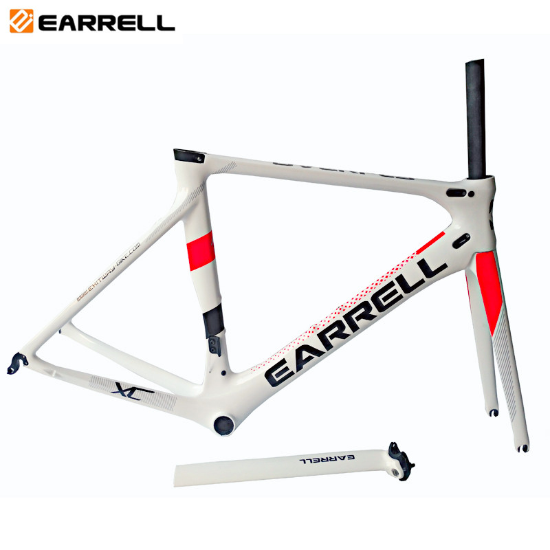 Full <strong>carbon</strong> fiber <strong>road</strong> bike <strong>frame</strong> Di2 T800 surper-light bicycle <strong>frame</strong> BB86 50/53/56cm