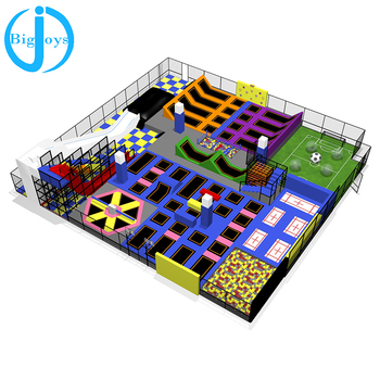 large trampoline park indoor trampolines with foam pit indoor trampoline park