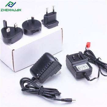 factory price 7.5v 0.5a detachable asia uk us europe plug adapter