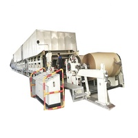 Full automatic corrugated paper making machine in paper production machinery