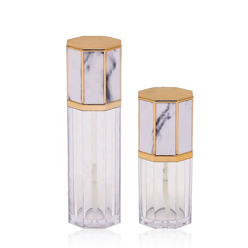 Factory Price 5ml marble pattern empty Lip Gloss Tube Make up tools cosmetic packing 5g фото