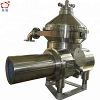 disc centrifugal milk cream separator for milk cleansing and degreasing process