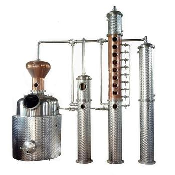 Alcohol making machine copper stills distillery equipment gin still for sale