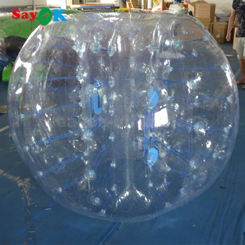 Adult transparent bumper ball zorbing on water prices