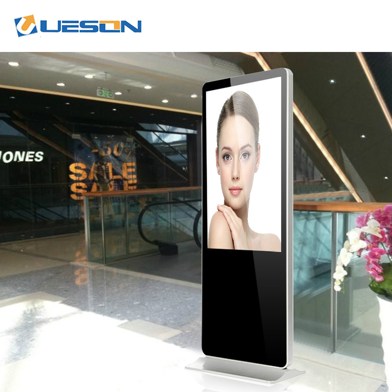 Floor stand verticale Android touch screen interactieve totem indoor digital signage reclame display