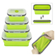 Factory Wholesale Hot Selling Reusable Leakproof Collapsible Silicone Food Storage Meal Prep Containers