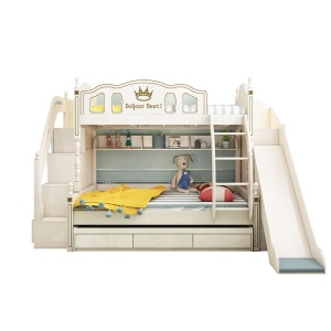 Bunk Bed With Slide Funny Kids Bed Modern Bedroom Furniture