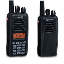 Kenwood walkie <span class=keywords><strong>talkie</strong></span> sem fio digital NX-220/NX-320 com teclado completo