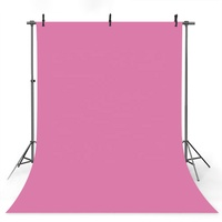 Candy Pink Solid Photography Background Photo Studio Backdrop