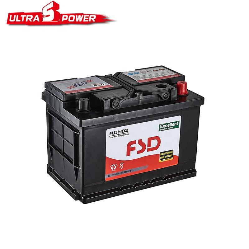 Bon Prix 12 V 60ah Batterie De Voiture Sèche N60 65d26r