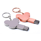 Hot Sale Silver Metal Mouse USB Flash Drive 128MB 4GB 8GB 16GB Pendrives With Customized Logo