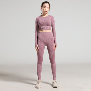 Workout Clothes For Women Gym Yoga Set Workout Clothing Sport Clothes 2 Piece Gym Sets Push Up Leggings And Bras Sports Wear