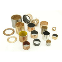 SF 1 DU slide bearing self lubricating bushing , composite ptfe bushing , with split plain bush