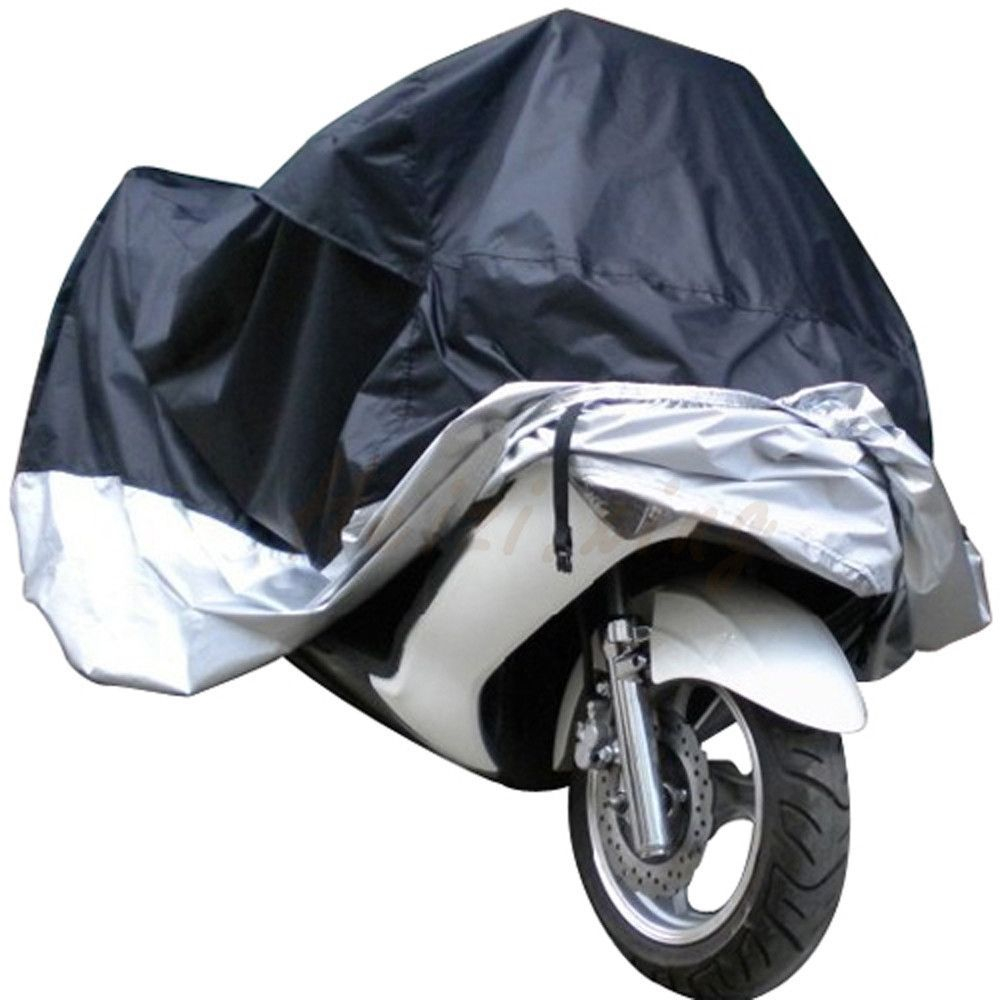 biggroup Outdoor Motorcycle Cover Raining Day Waterproof Dustproof UV Prevention Cover For Motorbike Electric Bicycle Scooter 2XL