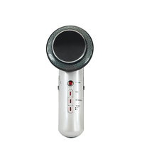 Wholesale best price ODM/OEM Handheld Portable Ultrasonic EMS Infrared 3 in 1 Body Massager Beauty Device for Slimming