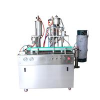 aerosol can machine for paint filling sealing