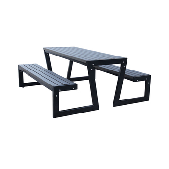 composite picnic tables with benches for festivals