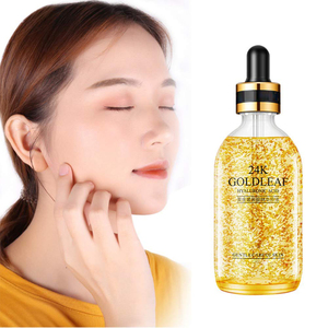Moisturizing Private Label Face Serum Hyaluronic Acid Serum 24K Gold Essence For Skin Care