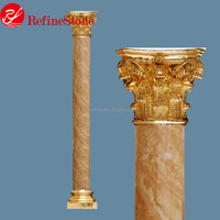 Hot Sell Hand Carved Home Decoration Marble Column