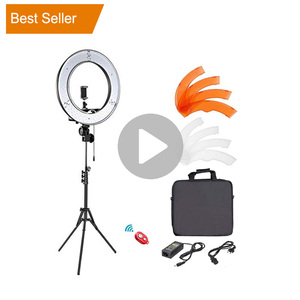 Best Seller 18 Inch Circle Dimmable Photo Camera Video Studio Makeup Photographic Led Ring Light Kit For Photography