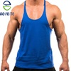Gym hot new products for 2019 wearhigh quality dry fit cotton blank slim fit cotton wholesale men stringer tank tops