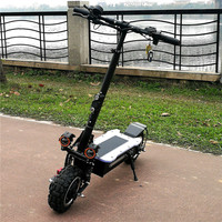 Professional Electric Scooter 11inch 3200W 60V With Seat For Adults With Low Price