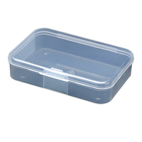 Factory PP box wholesale transparent plastic box Environmental material Multiple specifications plastic box