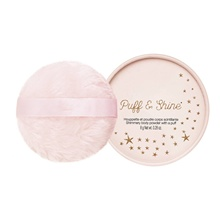 Custom Private Label Shimmery <span class=keywords><strong>Lichaam</strong></span> Bladerdeeg Cosmetica Glitter Body Powder Puff Voor Gezicht En Haar