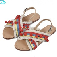 HFS1186A Summer Latest Platform Sandals Fashion Open Toe Sandals For Women And Ladies