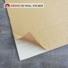 Interior decoration waterproof 3D PE Foam Wall Sticker Panels anti fouling XPE wall paper