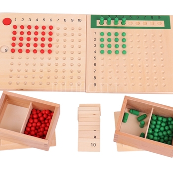 Intellectual games Multiplication and division board Montessori Preschool education amazon hot selling teaching aids