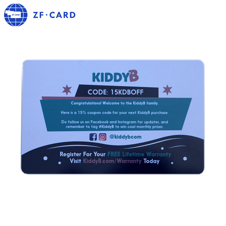 Mm Thickness Pvc Plastic Visiting Card