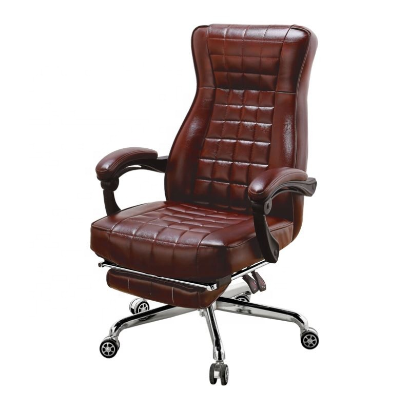 Free Sample Nova Big And Tall Commercial Furniture Pu/Leather Racing Executive Office Chair For Boss