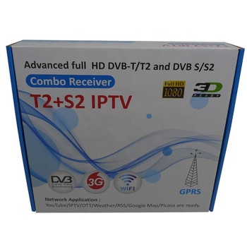 DVB-S2 Combo FTA HD DVB-S2 Set Top Box Ricevitore Powervu IKS WIFI 3G