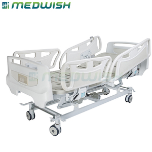 AG-BY003C MedWish brand hot sale 5 functions paralyzed patients hospital electric medical care beds