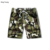 KY Camouflage Print swim trunks Drawstring Casual mens beach shorts