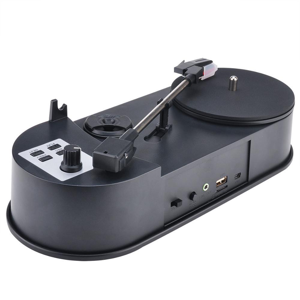 New version Mini USB Turntable vinyl player with PC recording function phono player vinyl to MP3 ezcap610P