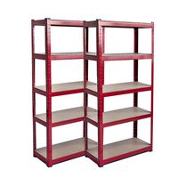 5 tiers storage rack heavy duty shelf steel shelving unit