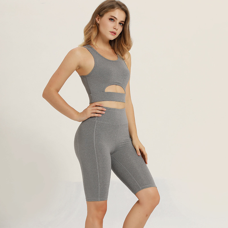 Wholesale Gym Wear Women Quickly Dry Fitness Sports Yoga Wear Set Custom Women Shorts And Bra Set More Than 70 Colors Available Buy At The Price Of 10 80 In Alibaba Com Imall Com