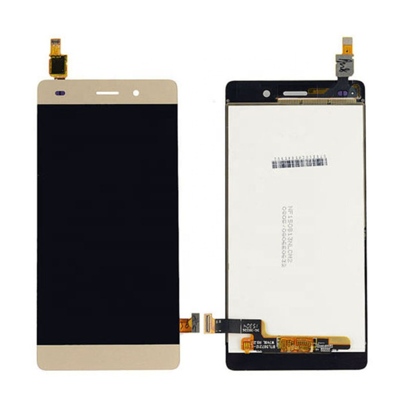 P8 Lite LCD For Huawei P8 Lite LCD Display With Frame Touch Screen Assembly LCD P8 Lite Display ALE-L21 ALE-04 2015 touch screen фото