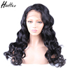 Cheap Price 100% Virgin Brazilian Human Hair Lace Front Wig with Baby Hair