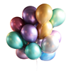 Promotional wholesale metal Pearl 12 Inch Latex metallic chrome balloon