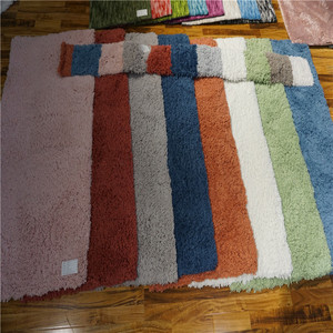 colorful 700g artificial sheep's wool soft material yarn carpet/rugs