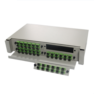 Outdoor 12 24 48 144 Core FTTH Fiber Optic Terminal Box ODF Fiber Optic Distribution Box Frame Rack Mount ODF