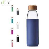 Alibaba Best Sellers Glass Bottle Manufacturers Bottle with Silicone Sleeve