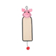 Pink Pig Funny Cat Toy Natural Sisal Cat Scratch Board