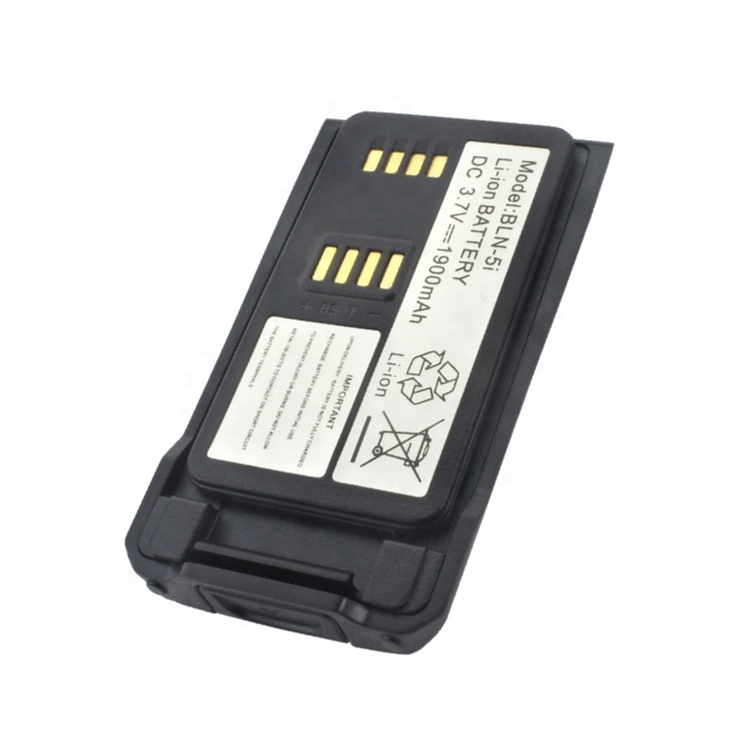 Manufacturer BLN-5i 3.7V Li-ion 1900mah <strong>battery</strong> for EADS Nokia Cassidian THR9 THR9i THR9+ Walike Talkies