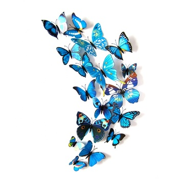 Zogifts Custom 3D butterfly PVC Fridge Magnets for Promotional Gifts